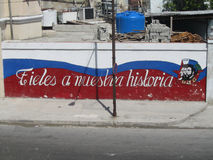True to our history, Havana, Cuba Stock Photo