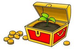 The True Treasure Stock Images