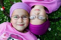 Free True Twins Royalty Free Stock Photos - 5438128