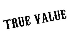 True Value rubber stamp Royalty Free Stock Photo