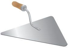 Truelle - un outil du maçon Image stock
