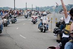 Trueno 2011, Washington, C.C. del balanceo Fotografía de archivo libre de regalías