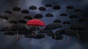 Trueno y paraguas metrajes