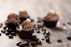 Trufas de chocolate Fotografia de Stock Royalty Free