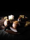Trufas luxuosas Foto de Stock