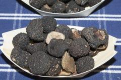Trufas negras Imagen de archivo libre de regalías
