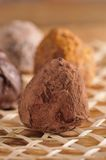 Truffe chocolate Stock Photo