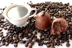 Truffe de café Images stock