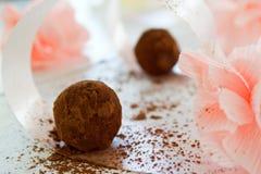 Truffe de chocolat Image libre de droits