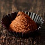 Truffe de chocolat. photos stock