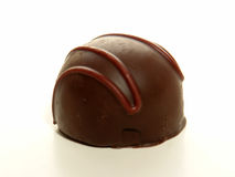 Truffe de chocolat foncée Photos stock
