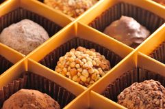 Truffe Praline Bresilienne Chocolate Royalty Free Stock Photos