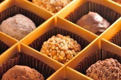 Truffe Praline Bresilienne Chocolate Royalty Free Stock Photos