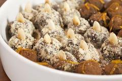 truffels миндалины Стоковая Фотография RF
