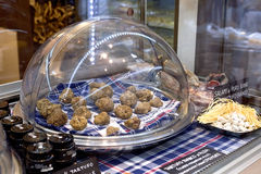 Truffes blanches photographie stock
