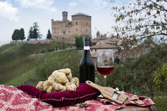 Truffes blanches de Piémont Italie Image libre de droits