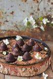 Truffes de chocolat Photographie stock