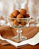 Truffes de chocolat délicieuses Photos libres de droits