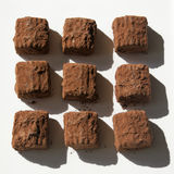 Truffes de chocolat suisses Photo libre de droits