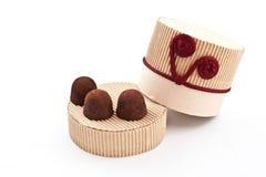 truffes fabriquées à la main Image stock