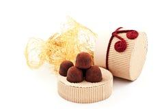 truffes fabriquées à la main Photographie stock
