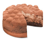 Truffle cake Stock Photography