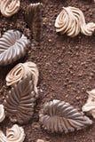 Truffle cake Stock Photos