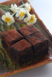 Truffle chocolate Stock Photos