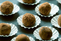 Truffle chocolate Stock Photography
