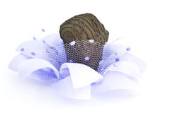 Truffle on a flower Royalty Free Stock Photos