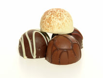 Truffle Foursome Royalty Free Stock Photos