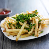 Truffle fries Stock Images
