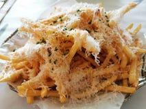 Truffle Fries stock image
