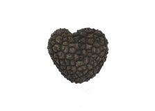 Truffle heart Royalty Free Stock Photo