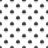 Truffle pattern seamless royalty free illustration