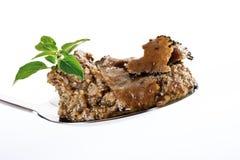 Truffle pesto on spoon Stock Image