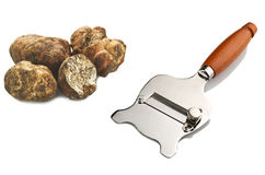 Truffle slicer Royalty Free Stock Images