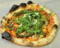 Truffled Siciliaanse pizza Stock Afbeelding
