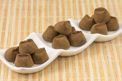 Truffles chocolate royalty free stock image