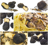 Truffles collage Royalty Free Stock Images