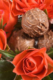 Truffles and Roses Royalty Free Stock Images