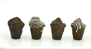 Truffles in a row Stock Photography