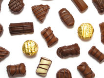 trufle czekoladę Fotografia Stock