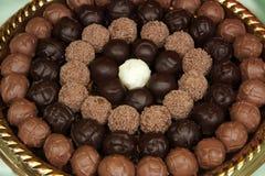 trufle czekoladę Obraz Stock