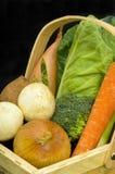 Trug of Fresh Vegetables Royalty Free Stock Image