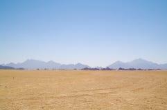 Trugbild in der Wüste lizenzfreie stockbilder