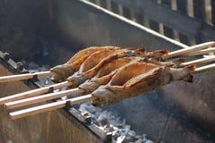 Truite fumée Photo libre de droits