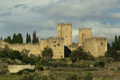 Trujillo. An old famous town near Caceres in Spain Royalty Free Stock Photo