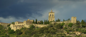 Trujillo. Is an old town in southern Spain Stock Images