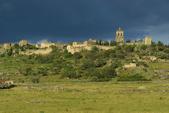 Trujillo. Old town and castle in Spain, town of Trujillo Royalty Free Stock Photos